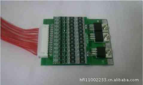 电动自行车48v锂电池均衡保护板